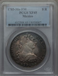 Mexico, Mexico: Charles III 8 Reales 1785 Mo-FM XF45 PCGS,...