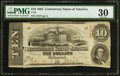 Confederate Notes:1863 Issues, T59 $10 1863 PF-13 Cr. 439.. ...