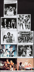 "Movie Posters:Rock and Roll, The Rocky Horror Picture Show (20th Century Fox, 1975). Mini LobbyCards (3) & Photos (6) (8"" X 10""). Rock and Roll.. ... (Total:9 Items)"