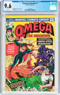 Bronze Age (1970-1979):Superhero, Omega the Unknown #1 (Marvel, 1976) CGC NM+ 9.6 White pages....