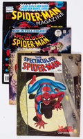 Magazines:Miscellaneous, Miscellaneous Spider-Man Related Magazines Group of 15 (VariousPublishers, 1970s-80s) Condition: Average FN.... (Total: 15 ComicBooks)