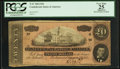 Confederate Notes:1864 Issues, T67 $20 1864 PF-1 Cr. 504.. ...