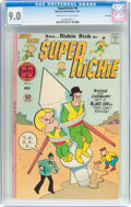 Bronze Age (1970-1979):Cartoon Character, Superichie #8 File Copy (Harvey, 1977) CGC VF/NM 9.0 Off-white towhite pages....