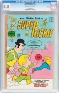 Bronze Age (1970-1979):Cartoon Character, Superichie #11 File Copy (Harvey, 1977) CGC VF 8.0 Off-white towhite pages....