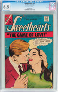 Silver Age (1956-1969):Romance, Sweethearts V2#91 File Copy (Charlton, 1967) CGC FN+ 6.5 Off-whiteto white pages....