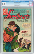 Silver Age (1956-1969):Romance, Sweethearts V2#95 File Copy (Charlton, 1967) CGC VF 8.0 Off-white to white pages....