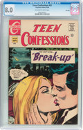 Silver Age (1956-1969):Romance, Teen Confessions #51 File Copy (Charlton, 1968) CGC VF 8.0Off-white to white pages....