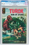 Silver Age (1956-1969):Adventure, Turok, Son of Stone #65 File Copy (Dell, 1969) CGC NM- 9.2 Off-white pages....