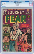 Golden Age (1938-1955):Horror, Journey Into Fear #11 (Superior Comics, 1953) CGC VG+ 4.5 Off-whitepages....