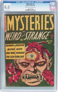 Golden Age (1938-1955):Horror, Mysteries #7 (Superior Comics, 1954) CGC VG 4.0 Cream to off-whitepages....