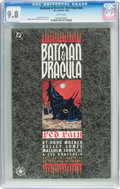 Books:Graphic Novel, Batman & Dracula: Red Rain #nn (DC, 1992) CGC NM/MT 9.8 Whitepages....