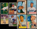 Baseball Cards:Lots, 1950-61 Bowman/Topps Dodgers Greats Collection (20) With 1950Robinson....