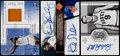 Basketball Cards:Lots, 2000 to 2005 Upper Deck Multi-Sport Signed (2) & Relic (1) CardLot. ...
