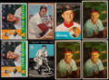 Baseball Cards:Lots, 1953-60 Bowman, Rawlings & Topps Stan Musial Collection (8)....