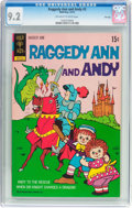 Bronze Age (1970-1979):Cartoon Character, Raggedy Ann and Andy #3 File Copy (Gold Key, 1972) CGC NM- 9.2Off-white to white pages....