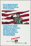 "Movie Posters:War, Patton (20th Century Fox, 1970). One Sheet (27"" X 41"") Flat Folded.War.. ..."