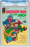 Bronze Age (1970-1979):Cartoon Character, Raggedy Ann and Andy #4 (Gold Key, 1973) CGC NM+ 9.6 Off-white towhite pages....