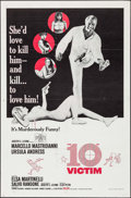 "Movie Posters:Science Fiction, The 10th Victim (Embassy, 1965). One Sheet (27"" X 41"") & Photos(41) (8"" X 10""). Science Fiction.. ... (Total: 42 Items)"