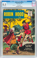 Silver Age (1956-1969):Adventure, Robin Hood Tales #5 (Quality, 1956) CGC VF+ 8.5 Off-white pages....