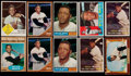 Baseball Cards:Lots, 1955-63 Fleer & Topps Willie Mays Collection (10)....