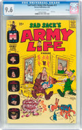 Silver Age (1956-1969):Humor, Sad Sack's Army Life Parade #17 File Copy (Harvey, 1967) CGC NM+ 9.6 Off-white to white pages....