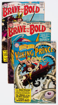 Silver Age (1956-1969):Superhero, The Brave and the Bold #15, 19, and 24 Group (DC, 1958-59).... (Total: 3 Comic Books)