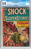 Golden Age (1938-1955):Horror, Shock SuspenStories #13 (EC, 1954) CGC GD/VG 3.0 Cream to off-whitepages....