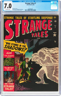 Strange Tales #7 (Atlas, 1952) CGC FN/VF 7.0 Off-white pages