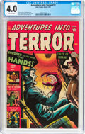 Golden Age (1938-1955):Horror, Adventures Into Terror #14 (Atlas, 1952) CGC VG 4.0 Off-whitepages....