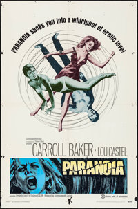 """Paranoia & Other Lot (Commonwealth United, 1969). One Sheets (2) (27"""" X 41""""). Thriller. ... (Total: 2..."""