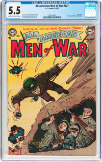 All-American Men of War #127 (#1) (DC, 1952) CGC FN- 5.5 Cream to off-white pages