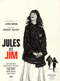 """Movie Posters:Foreign, Jules and Jim (Cinedis, 1961). French Moyenne (23.5"""" X 31.5""""). Christian Broutin Artwork.. ..."""