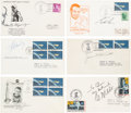Explorers:Space Exploration, Mercury, Gemini, and Apollo: Collection of Signed Launch Covers....(Total: 6 Items)
