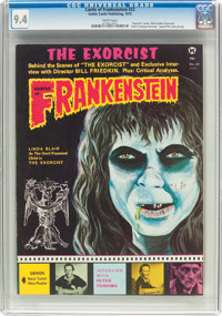 Castle of Frankenstein #22 (Gothic Castle Printing, 1974) CGC NM 9.4 White pages