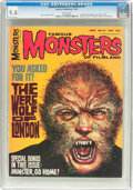 Magazines:Horror, Famous Monsters of Filmland #41 (Warren, 1966) CGC NM 9.4 White pages....