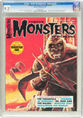 Magazines:Horror, Famous Monsters of Filmland #44 (Warren, 1967) CGC NM- 9.2 Off-white pages....