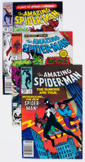 Modern Age (1980-Present):Superhero, The Amazing Spider-Man Group of 19 (Marvel, 1976-92) Condition:Average VF+.... (Total: 19 Comic Books)
