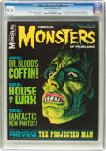 Magazines:Horror, Famous Monsters of Filmland #45 (Warren, 1967) CGC NM 9.4 Off-white pages....