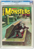 Magazines:Horror, Famous Monsters of Filmland #43 (Warren, 1967) CGC NM 9.4 Off-white pages....