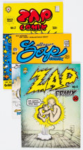 Bronze Age (1970-1979):Alternative/Underground, Zap Comix Group of 11 (Apex Novelties, 1969-82) Condition: Average FN.... (Total: 11 Comic Books)