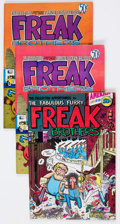 Bronze Age (1970-1979):Alternative/Underground, The Fabulous Furry Freak Brothers Group of 12 (Rip Off Press, 1970s) Condition: FN.... (Total: 12 Comic Books)