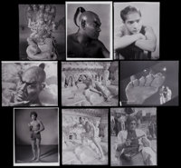 "The Thief of Bagdad (United Artists, 1940). Original Negatives (166) & Internegatives (50) (approx. 7.75"" X 9.7..."