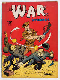 War Stories #5 (Dell, 1942) Condition: VG+