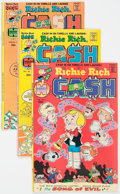 Bronze Age (1970-1979):Cartoon Character, Richie Rich Cash File Copies Box Lot (Harvey, 1974-82) Condition:Average NM-....