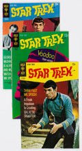 Silver Age (1956-1969):Science Fiction, Star Trek Group of 9 (Gold Key, 1969-74) Condition: Average VF.... (Total: 9 Comic Books)