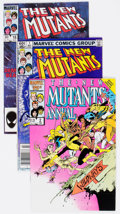 Modern Age (1980-Present):Superhero, The New Mutants Box Lot (Marvel, 1983-89) Condition: AverageVF-....