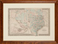 Miscellaneous:Maps, W.H. Gamble. County Map of the State of Texas ...
