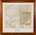 Miscellaneous:Maps, G. Woolworth Colton. Colton's New Map of the State ofTexas...