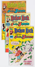 Bronze Age (1970-1979):Cartoon Character, Richie Rich and Jackie Jokers File Copies Box Lot (Harvey, 1976-82)Condition: Average VF/NM....