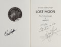 Autographs:Celebrities, James Lovell and Chris Kraft Signed Book: Lost Moon. ...